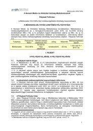 Békéscsaba 104,0 MHz A Nemzeti Média- és Hírközlési Hatóság ...