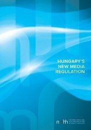 Hungary's new media regulation