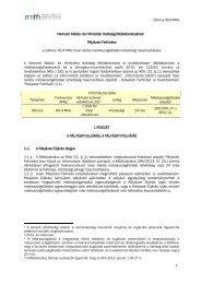 Záhony 90,4 MHz 1 Nemzeti Média- és Hírközlési Hatóság ... - ORTT