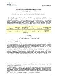 Szigetvár 98,9 MHz 1 Nemzeti Média- és Hírközlési Hatóság ... - ORTT