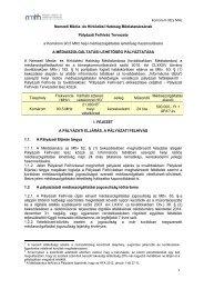 Komárom 90,5 MHz 1 Nemzeti Média- és Hírközlési Hatóság ...