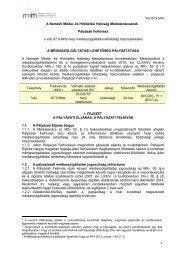 Vác 87,9 MHz 1 A Nemzeti Média- és Hírközlési Hatóság ... - ORTT