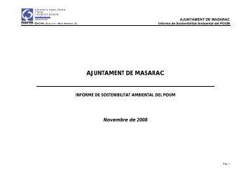 AJUNTAMENT DE MASARAC - Diputació de Girona