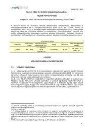 Cegléd 88,3 MHz 1 Nemzeti Média- és Hírközlési Hatóság ... - ORTT