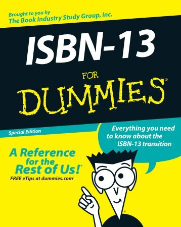 ISBN-13 - Book Industry Study Group