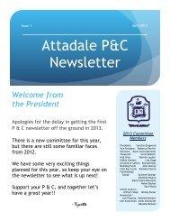 Issue 1 - Attadale Primary School