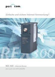 Einfache und sichere Internet-Fernwartung? - Pericom AG