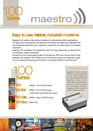 Easy to use, reliable, industrial modems - Pericom AG