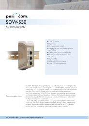 SDW-550 - Pericom AG