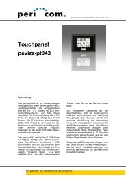 Produktblatt pevizz-pt043 D-2010-1 - Pericom AG