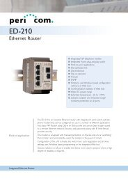 ED-210 - Pericom AG