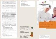 Download Infoflyer Klinik für Strahlentherapie und Radioonkologie
