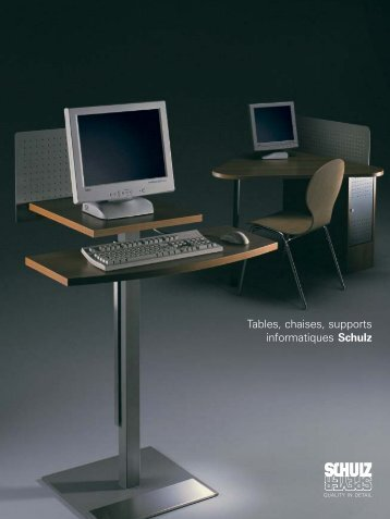 Tables-chaises-PC FR - Schulz Benelux