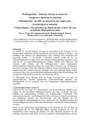 Peter J. Weber: Vielsprachigkeit - EBB-AEDE