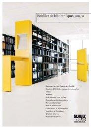 Mobilier de bibliothèques 2012/14 - Schulz Speyer