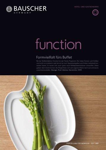 Function - Bauscher