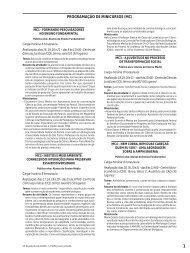 programação de minicursos - Sociedade Brasileira para o ...