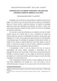 Nilvania Aparecida de Mello - Sociedade Brasileira para o ...