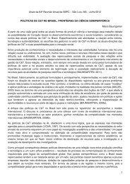 Maira Baumgarten Correa - Sociedade Brasileira para o Progresso ...