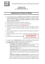 Regulamento da Usina de Idéias - Sociedade Brasileira para o ...