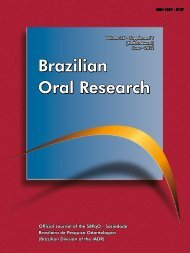 Suplemento 2012 - Sociedade Brasileira de Pesquisa Odontológica
