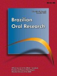 Brazilian Oral Research - Sociedade Brasileira de Pesquisa ...