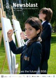 October 2012 - British School Of Bucharest