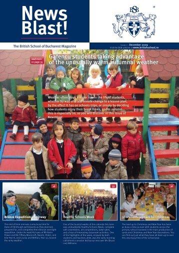 December 2009 - British School Of Bucharest
