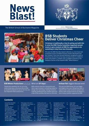 BSB Students Deliver Christmas Cheer BSB Students Deliver