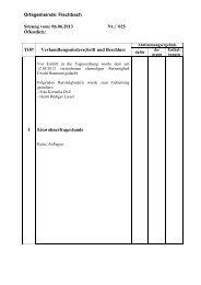 Protokoll der Sitzung vom 06.06.2013 - Fischbach an der Nahe