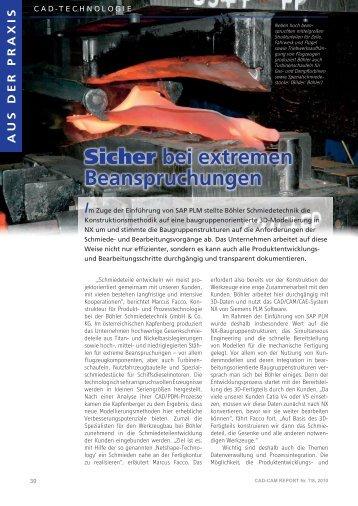 Sicher bei extremen Beanspruchungen - DSC Software AG