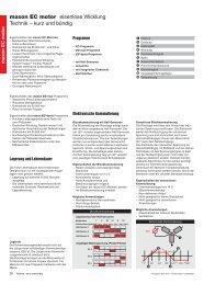maxon EC motor eisenlose Wicklung Technik – kurz und bündig