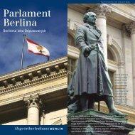 Parlament Berlina - Abgeordnetenhaus von Berlin
