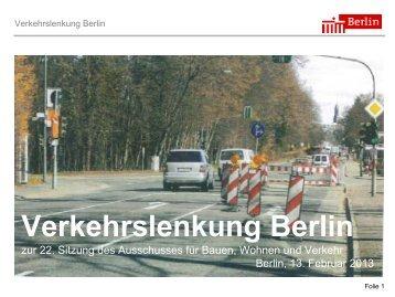 Verkehrslenkung Berlin