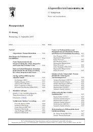 Plenarprotokoll der 35. Sitzung - Abgeordnetenhaus von Berlin