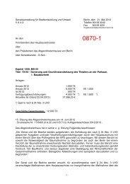 0870-1 - Abgeordnetenhaus von Berlin