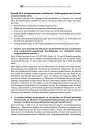 SchwoB 2010. Schwerbehinderten Joboffensive / Stellungnahme ...
