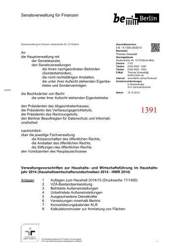1391 - Abgeordnetenhaus von Berlin