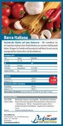 Flyer Barca Italiana