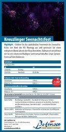 Flyer Kreuzlinger Seenachtsfest