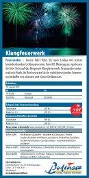 Flyer Klangfeuerwerk