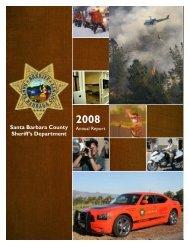 10-29 Final Report - Santa Barbara County Sheriff's Department