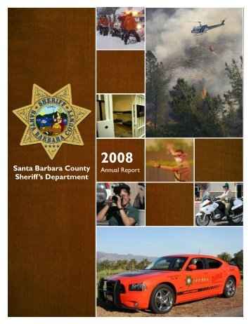 10-29 Final Report - Santa Barbara County Sheriff's Department