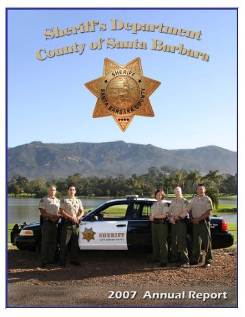 New Body of Report 071508 - Santa Barbara County Sheriff's ...