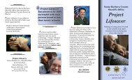 Project Lifesaver Brochure - Santa Barbara County Sheriff's ...