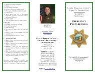 Emergency Preparedness - Santa Barbara County Sheriff's ...