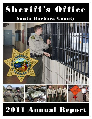 Annual Report 2011 - Santa Barbara County Sheriff's Department