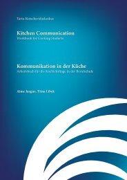 Kitchen Communication Kommunikation in der Küche - SBSZ - Jena ...
