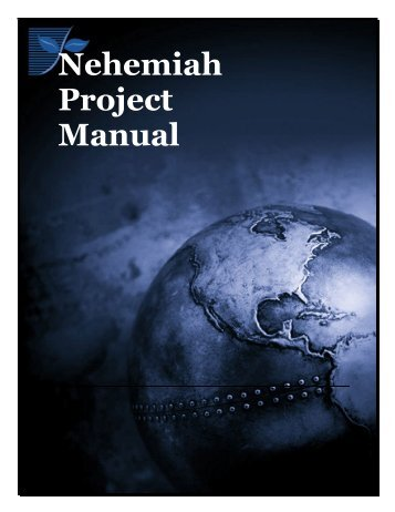 2007 Nehemiah Project Manual - The Southern Baptist Theological ...