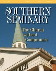 Here - Southern Baptist Theological Seminary